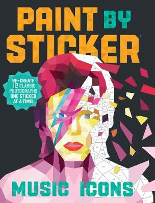 Paint by Sticker: Music Icons book