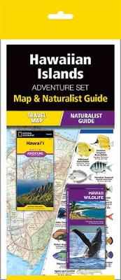 Hawaiian Islands Adventure Set: Map & Naturalist Guide by National Geographic Maps