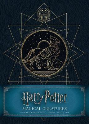 Harry Potter: Magical Creatures Hardcover Blank Sketchbook by Insight Editions