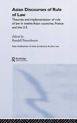 Asian Discourses of Rule of Law book