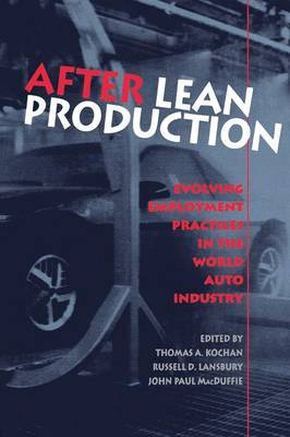 After Lean Production by Thomas A. Kochan