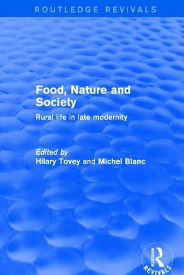 Food, Nature and Society book