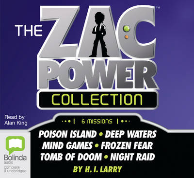 Zac Power Collection by H. I. Larry