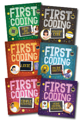 First Coding - Set of 6 Books by null