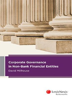 Corporate Governance in Non-Bank Financial Entities book