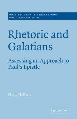 Rhetoric and Galatians book