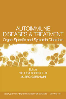 Autoimmune Diseases and Treatment by Yehuda Shoenfeld