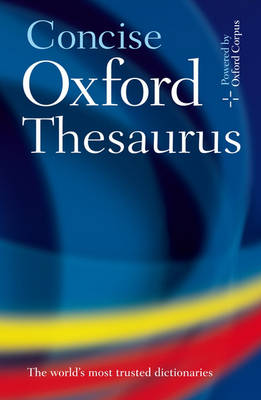 Concise Oxford Thesaurus by Oxford Languages