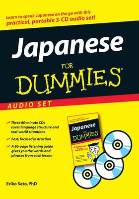 Japanese for Dummies Audio Set by Eriko Sato