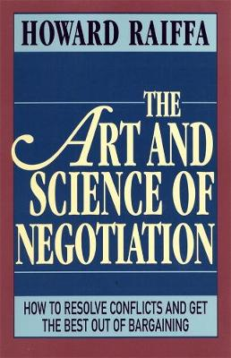 Art and Science of Negotiation book