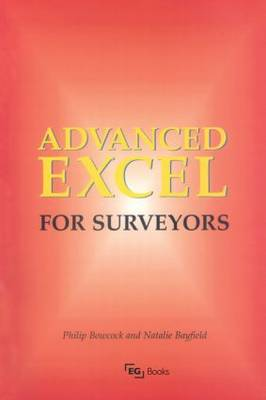 Advanced Excel for Surveyors book