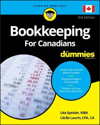 Bookkeeping For Canadians For Dummies by Lita Epstein