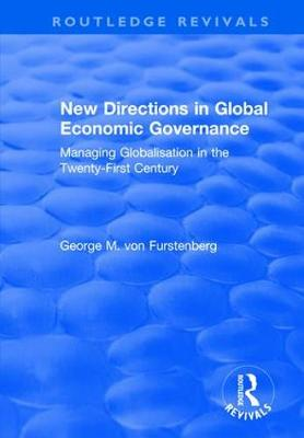 New Directions in Global Economic Governance book