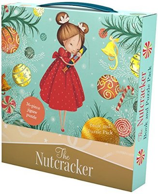 The Nutcracker Book and Puzzle Pack: 36-Piece Jigsaw Puzzle by Valeria Docampo
