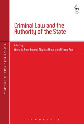 Criminal Law and the Authority of the State book