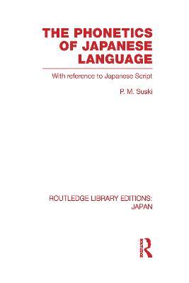 Phonetics of Japanese Language book