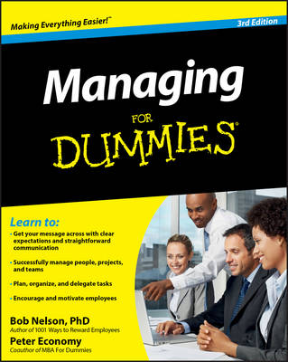 Managing For Dummies book