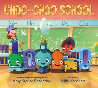 Choo-Choo School book
