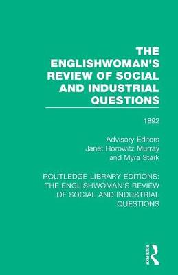 The Englishwoman's Review of Social and Industrial Questions: 1892 book