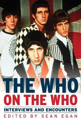 Who on the Who by Egan Sean