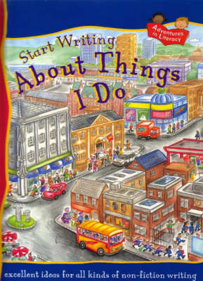 START WRITING ABOUT THINGS I DO by Penny King
