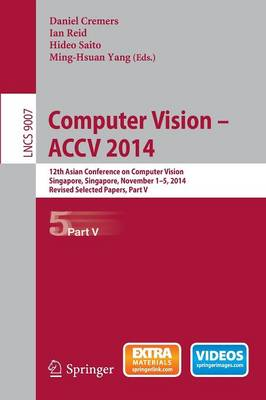Computer Vision -- ACCV 2014 by Daniel Cremers