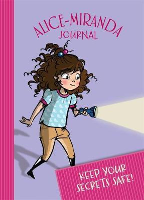 2017 Alice-Miranda Journal with lock and key by Jacqueline Harvey