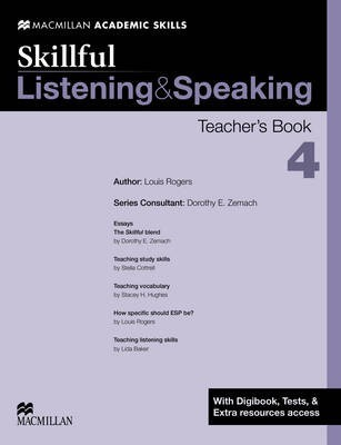 Skillful - Listening & Speaking - Level 4 Teacher Book + Digibook + Audio CD by Dorothy E. Zemach