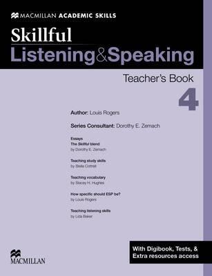 Skillful - Listening & Speaking - Level 4 Teacher Book + Digibook + Audio CD by Dorothy E. Zemach