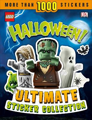 LEGO Halloween! Ultimate Sticker Collection book
