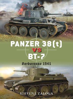 Panzer 38t vs BT-7 by Steven J. Zaloga