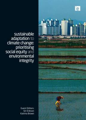 Sustainable Adaptation to Climate Change by Katrina Brown