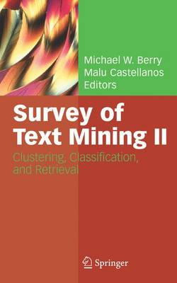 Survey of Text Mining II by Michael W. Berry