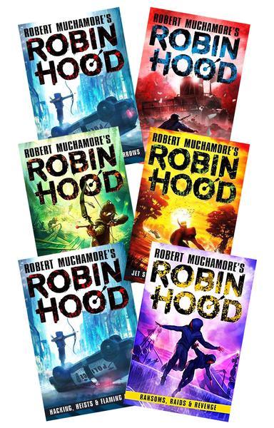 Robin Hood - Set of 2 Books by Robert Muchamore
