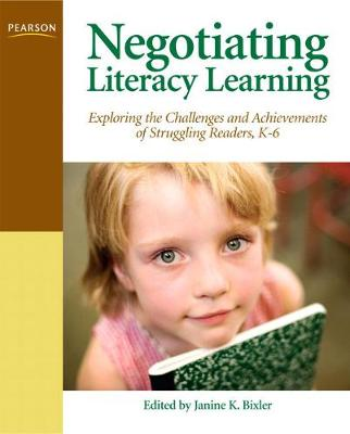 Negotiating Literacy Learning book