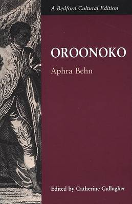 Oroonoko US edition by Catherine Gallagher