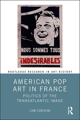 American Pop Art in France: Politics of the Transatlantic Image book