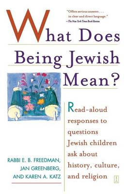 What Does Being Jewish Mean book