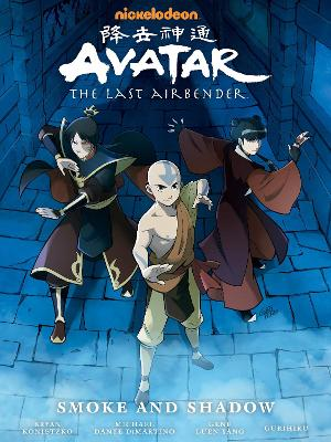 Avatar: The Last Airbender - Smoke And Shadow Library Edition book