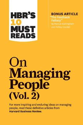 HBR's 10 Must Reads on Managing People, Vol. 2 by Harvard Business Review