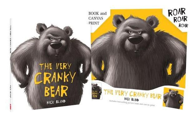 Very Cranky Bear Board Book by Nick Bland