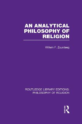 Analytical Philosophy of Religion book
