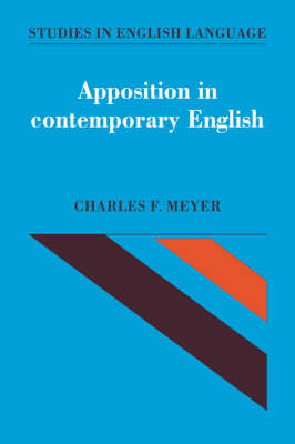 Apposition in Contemporary English book