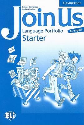 Join Us for English Starter Language Portfolio by Gunter Gerngross