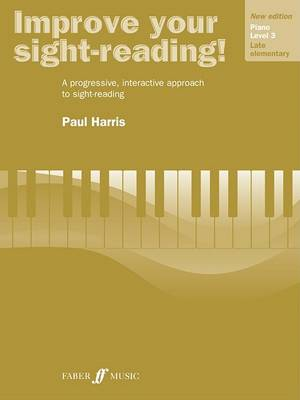 Improve Your Sight-Reading! Piano, Level 3 by Paul Harris