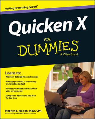 Quicken 2015 for Dummies book
