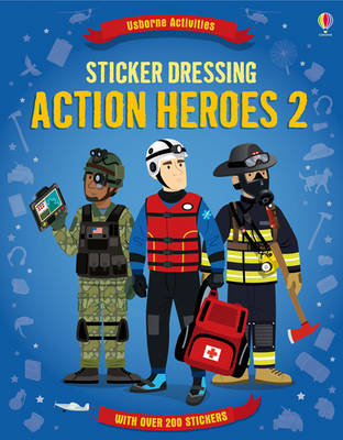 Sticker Dressing Action Heroes 2 by Lisa Jane Gillespie