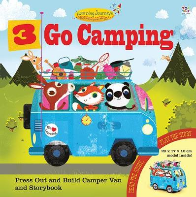 Three Go Camping by Oakley Graham