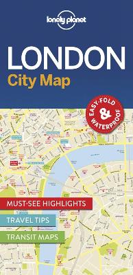 Lonely Planet London City Map by Lonely Planet