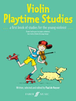 Violin Playtime Studies by Paul de Keyser